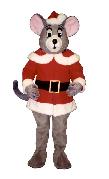 Noel Mouse With Santa Coat and Hat