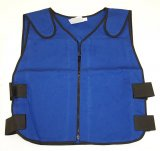 Cooling vest for Santa Claus