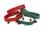 Jingle Bell Silicone Bracelet