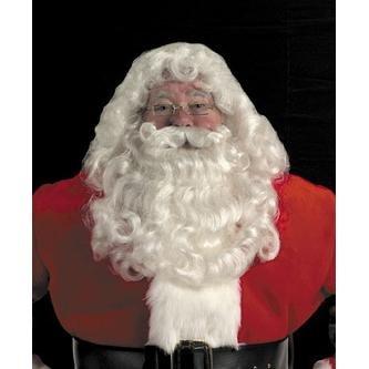 Santa Wig, Beard, & Mustache - Great Quality