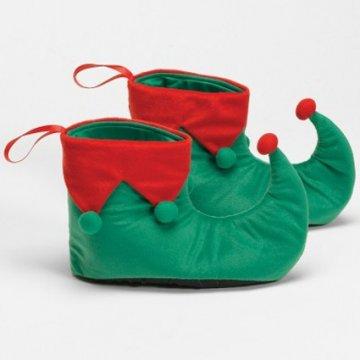 Fleece Elf Shoes