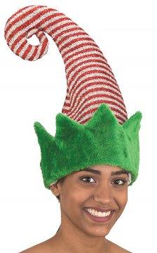 Striped Elf hat