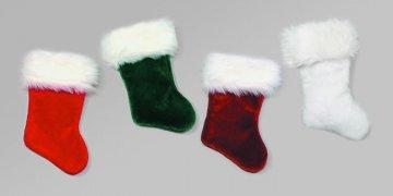Velvet Plush Stocking