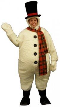 Snowman With Hood