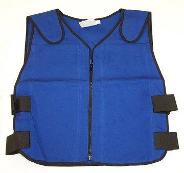 Cooling vest for Santa Claus