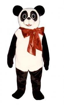 Christmas Panda With Bow