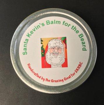 Santa Kevin's Real Beard Santa Balm