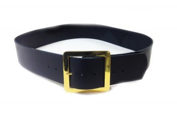 Premium Leather Santa Belt
