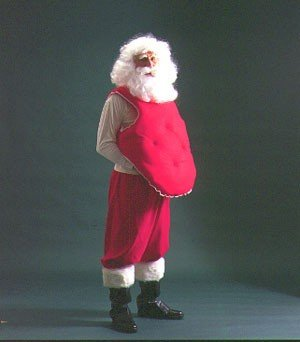 Padded Santa Belly