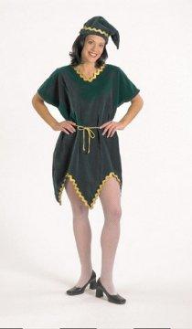 Velvet Elf Tunic Costume
