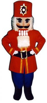 Nutcracker Mascot Costume