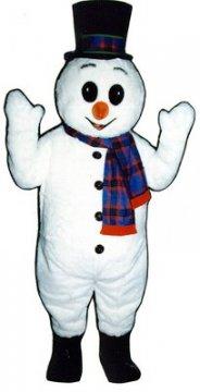 Deluxe Snowman Mascot Costume