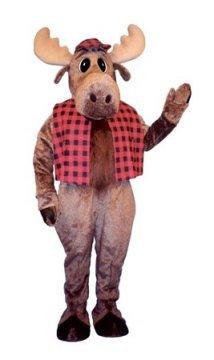 Hunter Milton Moose Mascot Costume