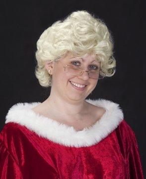 Short N Sassy Mrs. Claus Wig