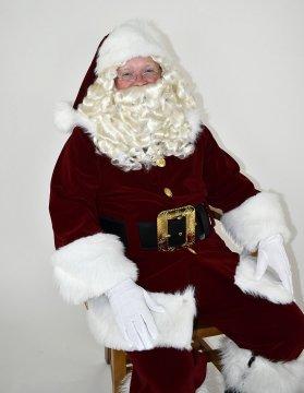 Jumbo Santa Claus Wig & Beard - Premium Quality