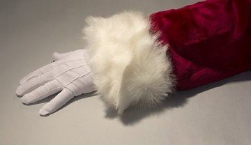 Santa Gloves - Extra long