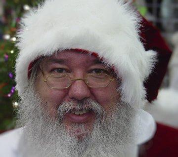 Rectangular Santa Glasses