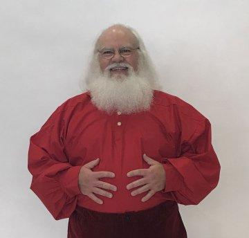 Holly Red Santa Shirt