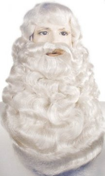 Santa Wig, Beard & Mustache  - Supreme X