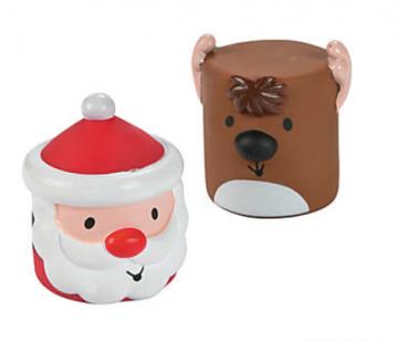 Squishy Vinyl Christmas Characters
