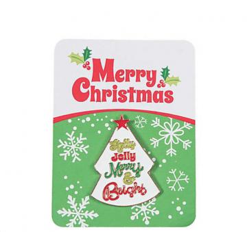 Whimsical Christmas Pin