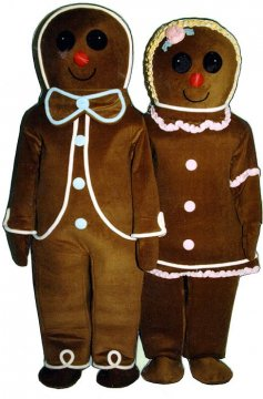 Gingerbread Boy (On Left side of picture)