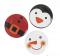 Christmas Character Mini Buttons