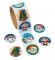 Holiday Sticker Roll