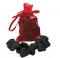 Lump of Coal Erasers
